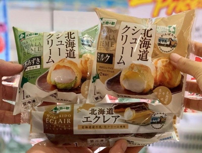 japanese snacks cream puffs
