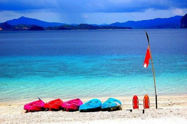 asia pacific beaches