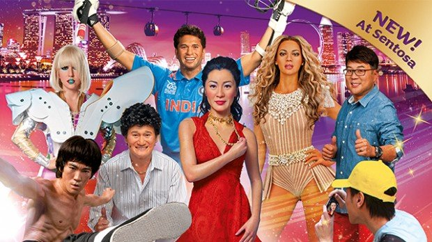 Buy 2 and Save 50% on 2nd Ticket for Madame Tussauds with NTUC Card