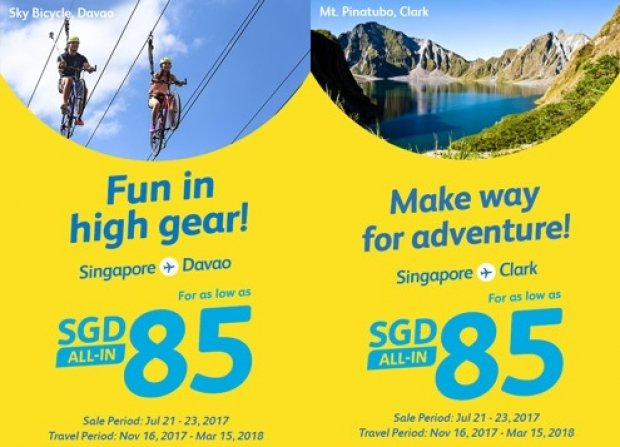 Fly to Philippines with Cebu Pacific and Visa from SGD85 1