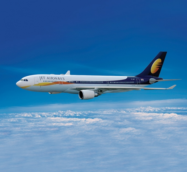 Up to 12% Off Fares in Jet Airways with DBS Card