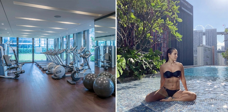 sofitel singapore city centre fitness facilities