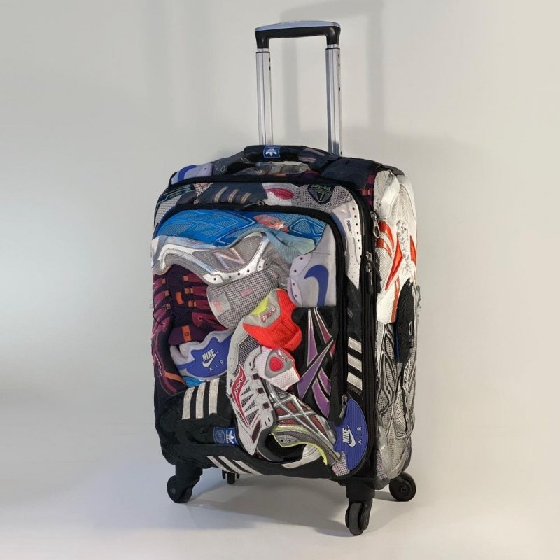 Upcycled Suitcase by Upcycling Artist