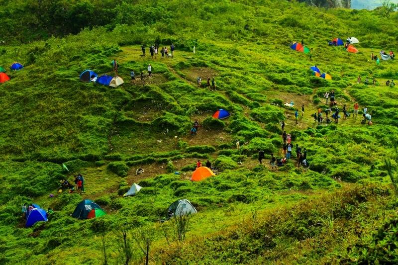camping in osmena peak
