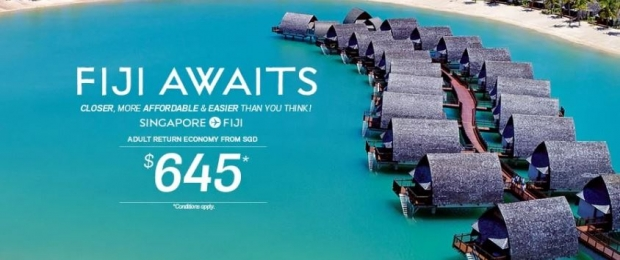 Save up to SGD512 When you Book your Flight to Paradise with Fiji Airways