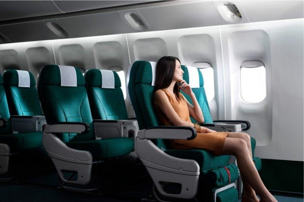 Two-to-Travel Premium Economy Class Advance Purchase Fares with DBS/POSB Cards and Cathy Pacific
