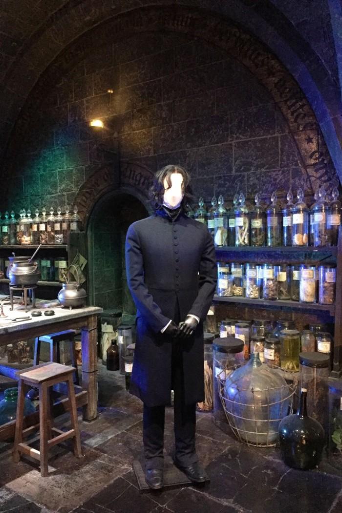 Snape's Potions Classroom