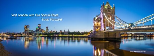 Explore Europe via London with Garuda Indonesia from SGD610