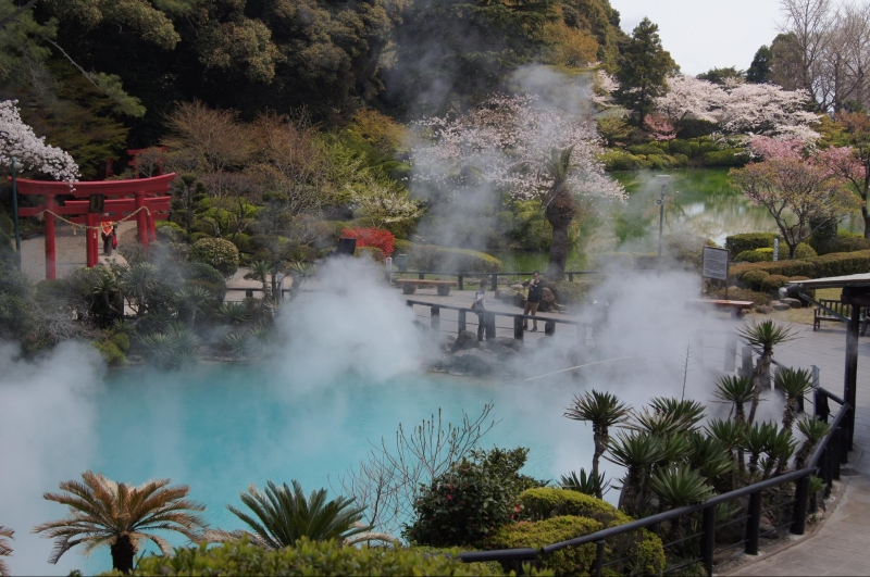 eight hells of beppu hot springs
