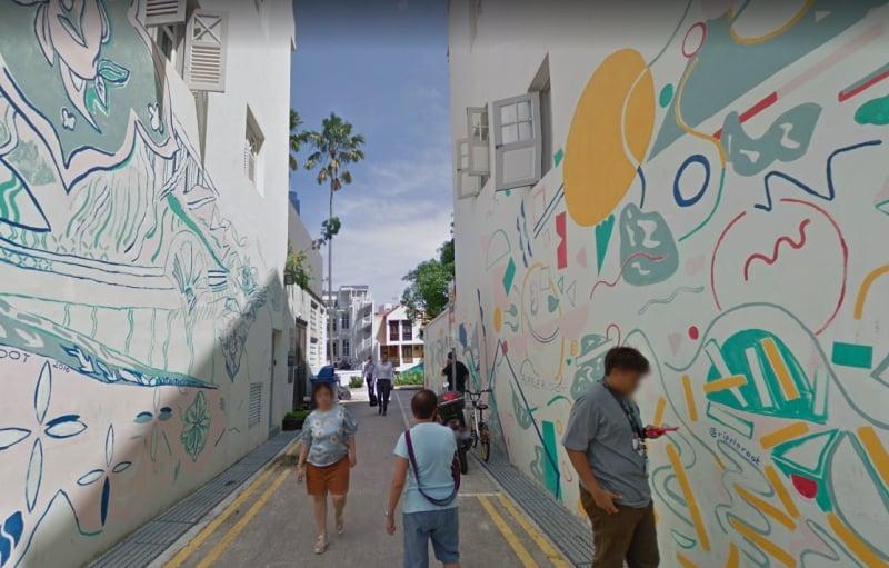 photoshoot locations in Singapore keong saik