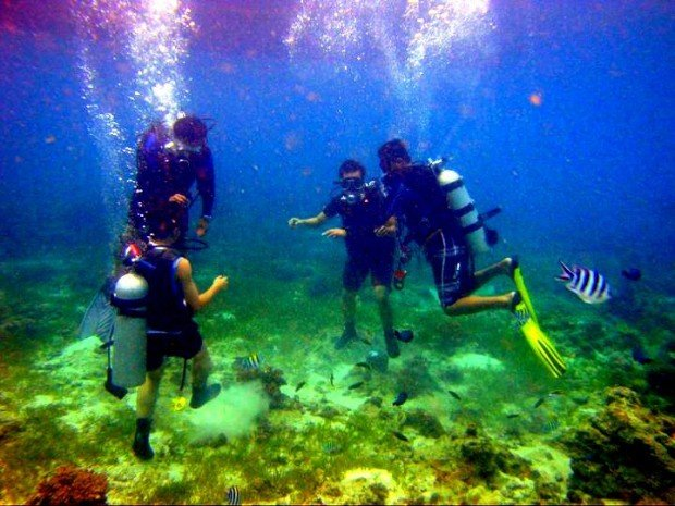 scuba diving in cebu