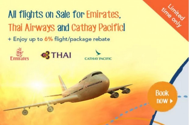 3-Days Sale | Fly with these 3 Airlines via Zuji to your Next Getaway!