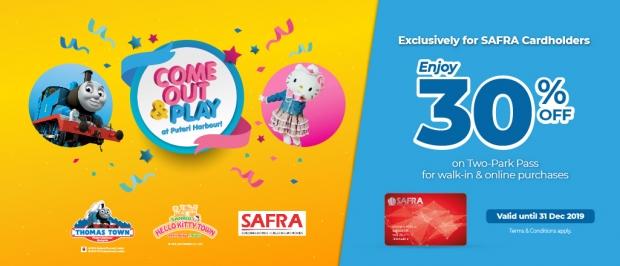 30% Savings in Puteri Harbour Exclusive for SAFRA Members