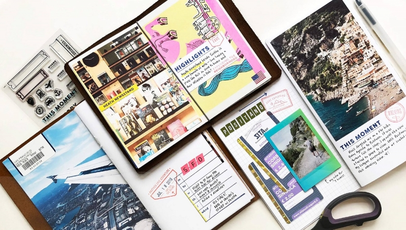 Journals to document your travels