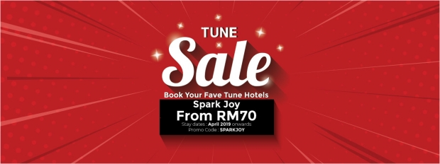 Spark More Joy with the Tune Hotel Sale