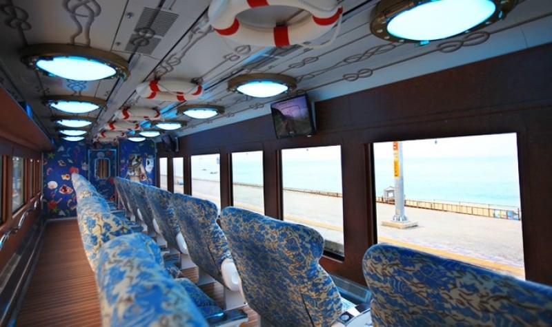 korea scenic train rides