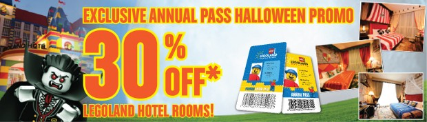 Exclusive Annual Pass Halloween Promo from Legoland Malaysia