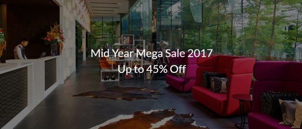 Mid-Year Sale 2017 on Participating Hotels in Singapore & Malaysia via Far East Hospitality