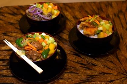 Mongolian Barbecue Buffet