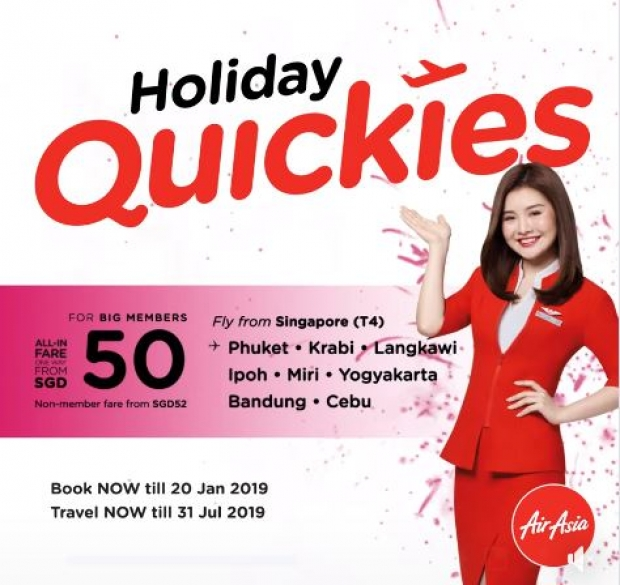 Goodbye 2018, Hello 2019. Fly to Your Next Destination with AirAsia