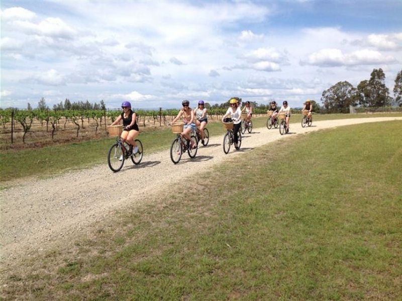 cycling through the hunter valley