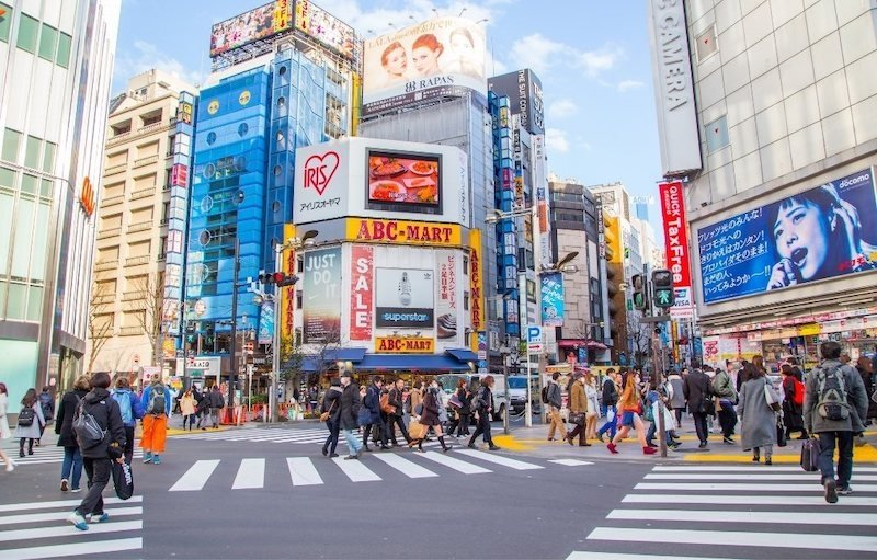 shibuya crossing as one of things to do in tokyo