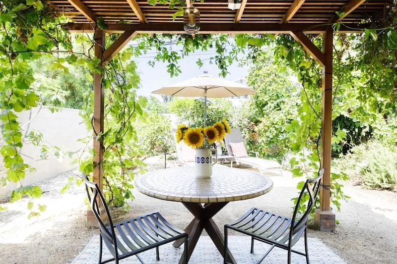 Garden in Romantic Cottage