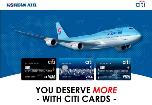 Fly more with Korean Air and Citibank to Enjoy Up to 20% Savings
