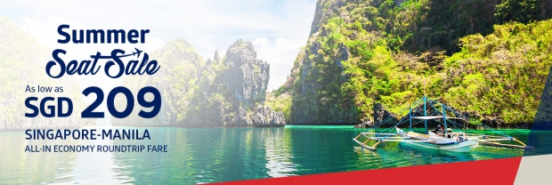 Summer Seat Sale with Up to 50% Off Flight Fares in Philippine Airlines 1
