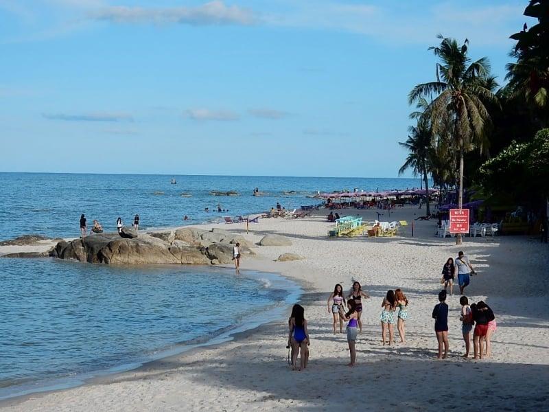 Hua Hin Beach on Hua Hin