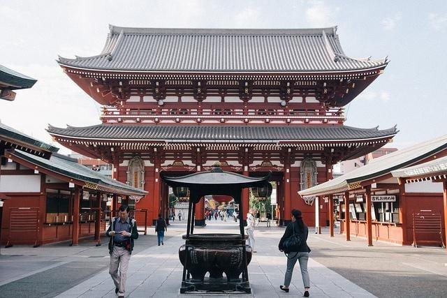 Địa Điểm Chụp Hình Sống Ảo Ở Tokyo Asakusa