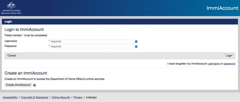 australian visitor visa online