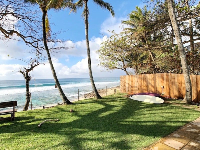 Beach on the North Shore of Oahu