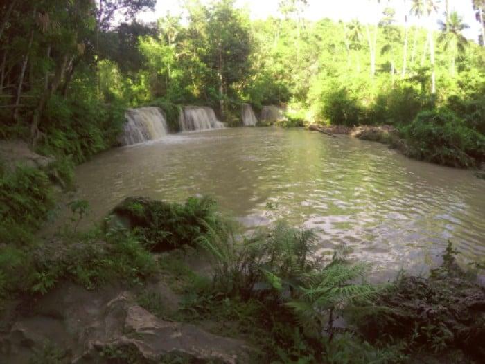 Cambughay falls Siquijor