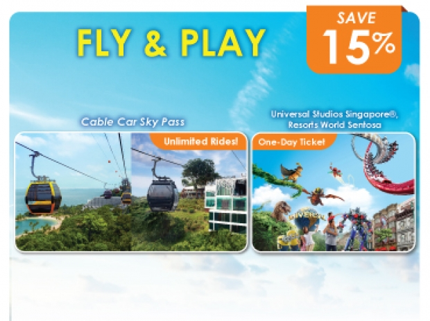 Fly and Play Offer in One Faber Group Attractions