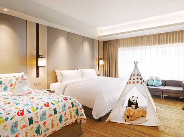 Family Weekend Getaway at PARKROYAL on Beach Road, Singapore