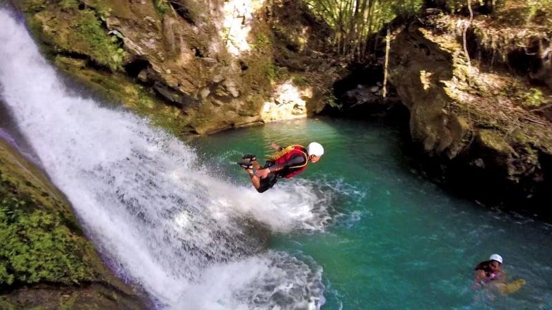 canyoning in cebu