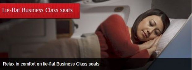 Business Class Seats Offer in Emirates to Europe and America