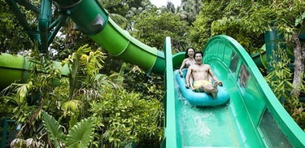 Adventure Cove Waterpark + The Maritime Experiential Museum Adult One-Day Tickets + SGD5 Meal Voucher at SGD45 (Save 10%)