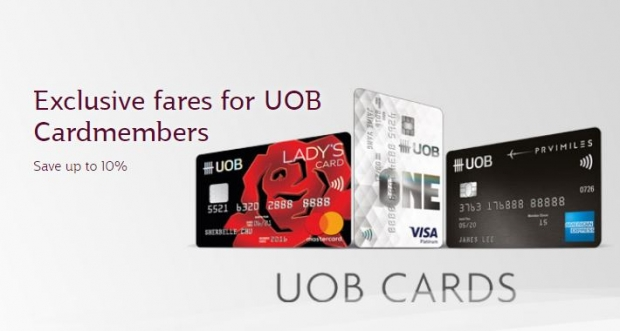 Enjoy up to 10% Savings in Qatar Airways with UOB Card