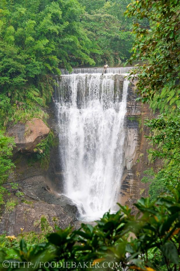 Trilha da cachoeira de Sandiaoling