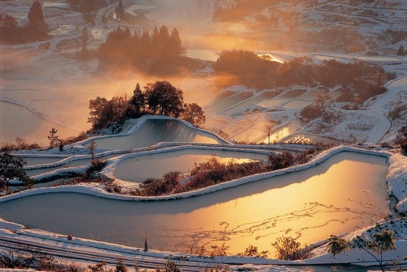winter in tohoku