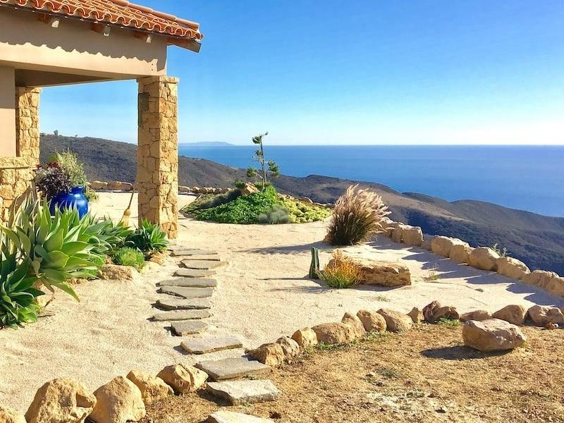 Seaside Bungalow With Mountain Views in Malibu