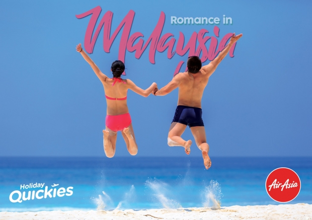 Romance in Malaysia - Celebrate Love with Flights with AirAsia