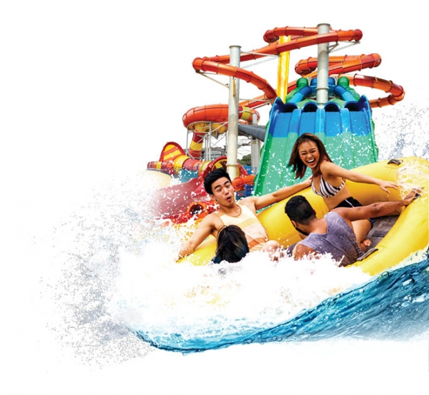 20% off Day Pass and More in Wild Wild Wet with DBS Card