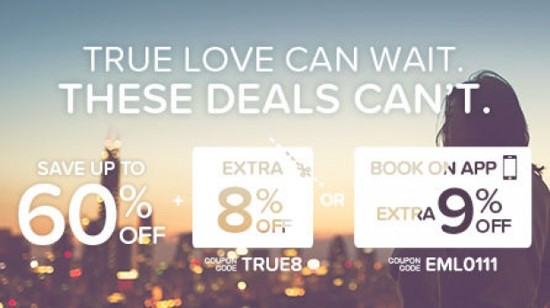 Enjoy up to 60% Savings on your Accommodation with Hotels.com