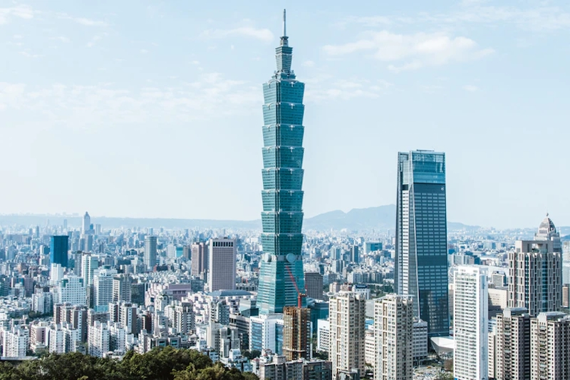 taiwan second safest country