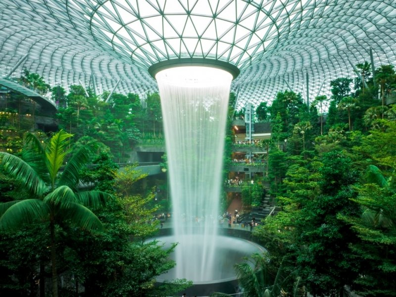 Glampcation Changi Airport