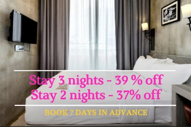 Stay 3 and Save up to 39% in Hotel Yan