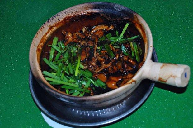 Món ăn ở Singapore: Cháo ếch